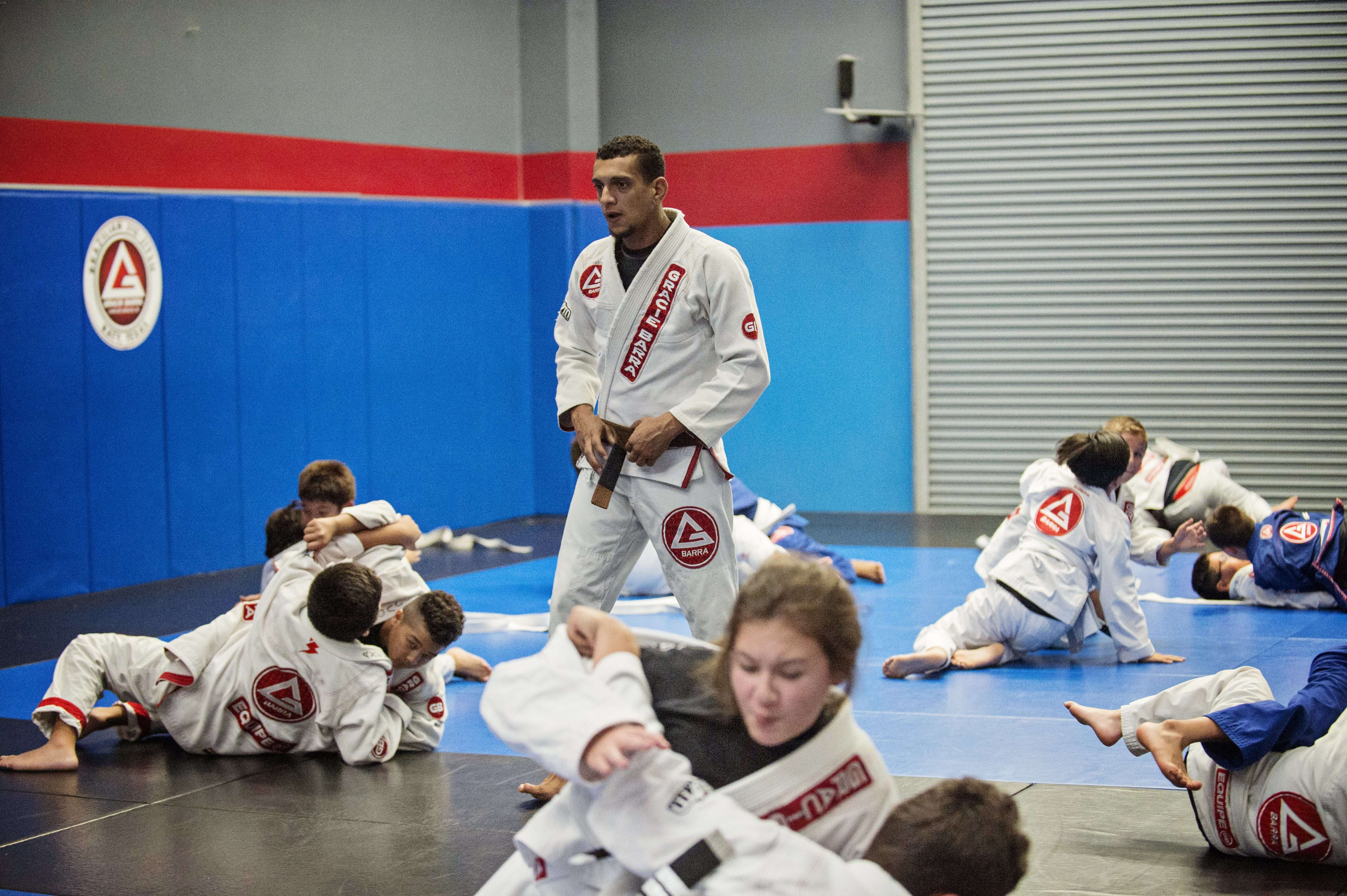 Gracie Barra Youth Wrestling